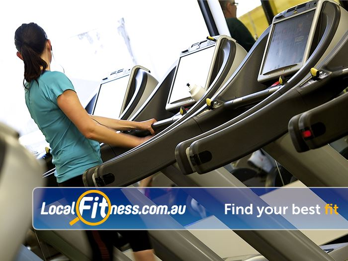 Ivanhoe Aquatic & Fitness Centre Near Heidelberg State of the art cardio with personal entertainment screens.