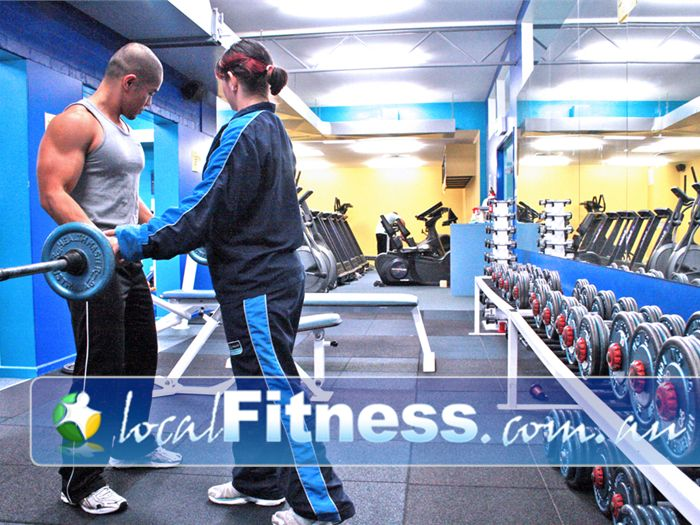 Olympic Leisure Centre Gym Rosanna  | A wide selection of free-weights.
