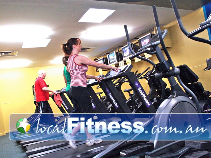 Olympic Leisure Centre Gym Greensborough  | Treadmills, cross trainers, rowers, bikes and more.