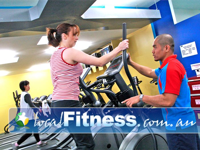 Olympic Leisure Centre Rosanna Gym Fitness Instructors are always on hand