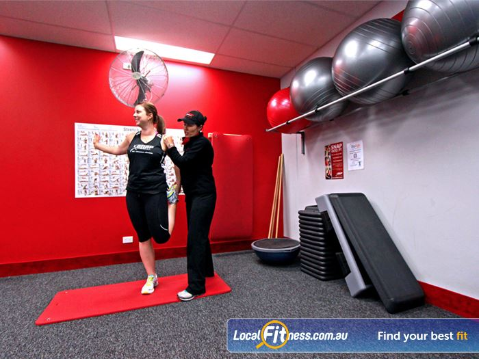 Snap Fitness Heidelberg West Gym Fitness Dedicated stretching and abs