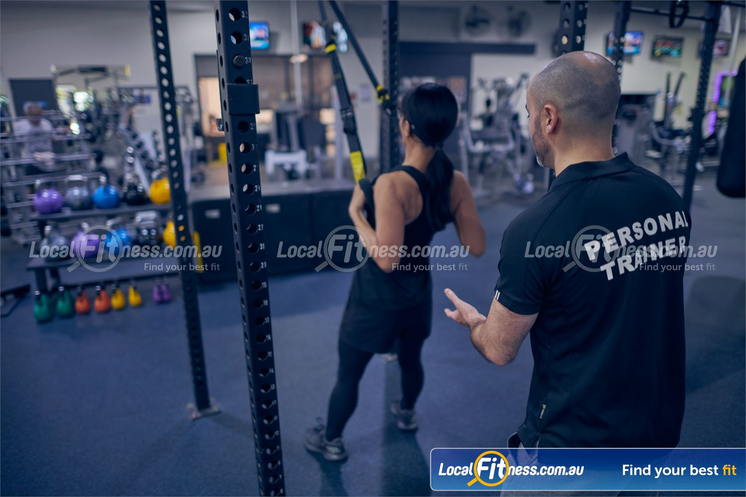 Maribyrnong Aquatic Centre Near Essendon Work your core and your stabilizers with TRX training in Maribyrnong.