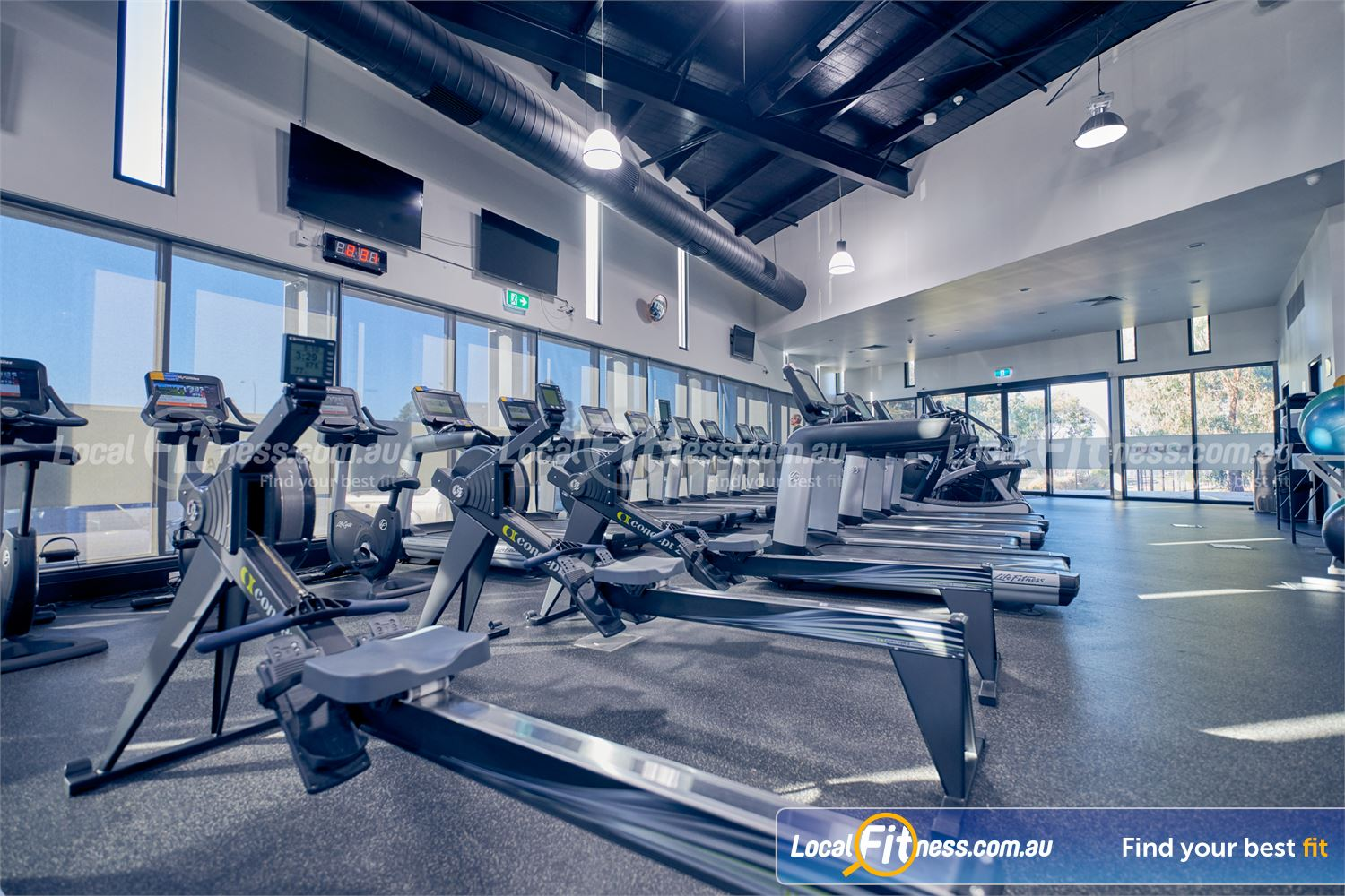Maribyrnong Aquatic Centre Near Essendon West Our expanded Maribyrnong gym includes state of the art cardio equipment.