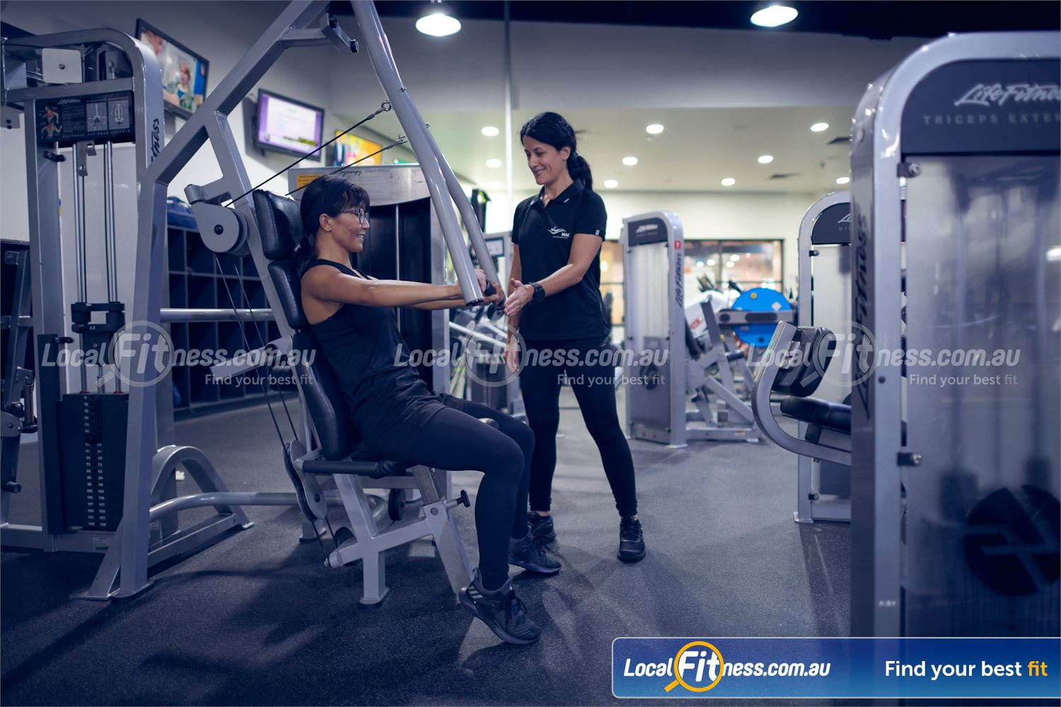 Maribyrnong Aquatic Centre Near Essendon Our Maribyrnong personal trainerscan help with your strength training goals.