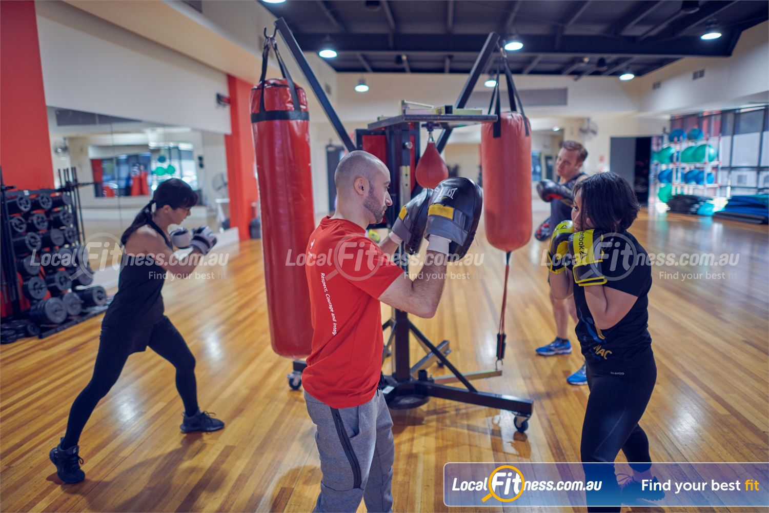 Maribyrnong Aquatic Centre Maribyrnong Our Maribyrnong gym includes a boxing setup with speedball, heavy bags and more.