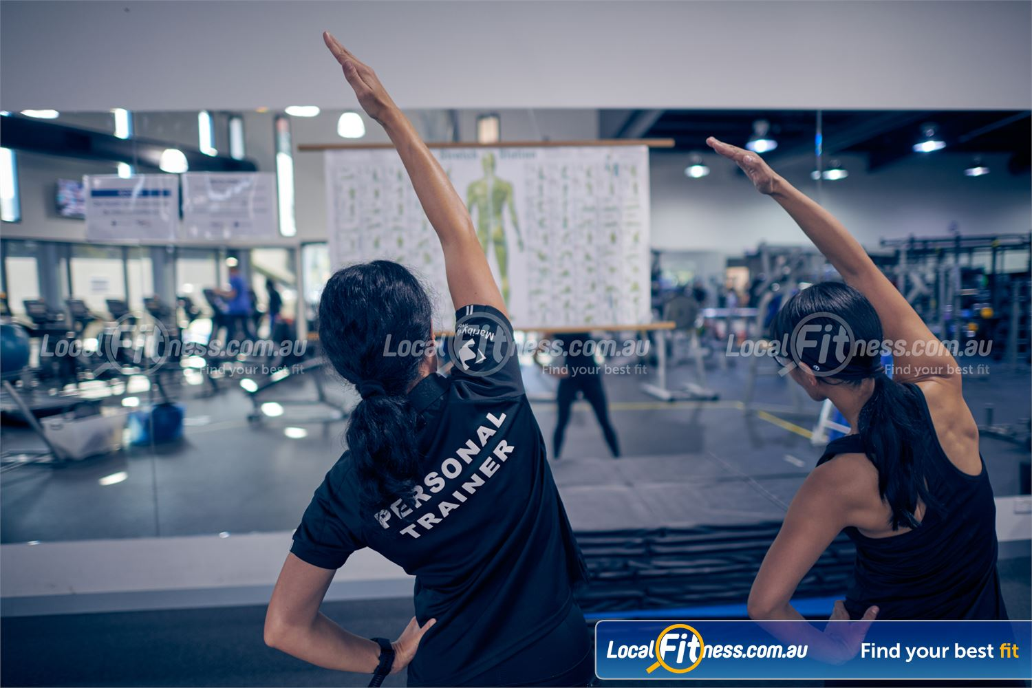 Maribyrnong Aquatic Centre Near Aberfeldie Ask us for a personalised stretching routine.