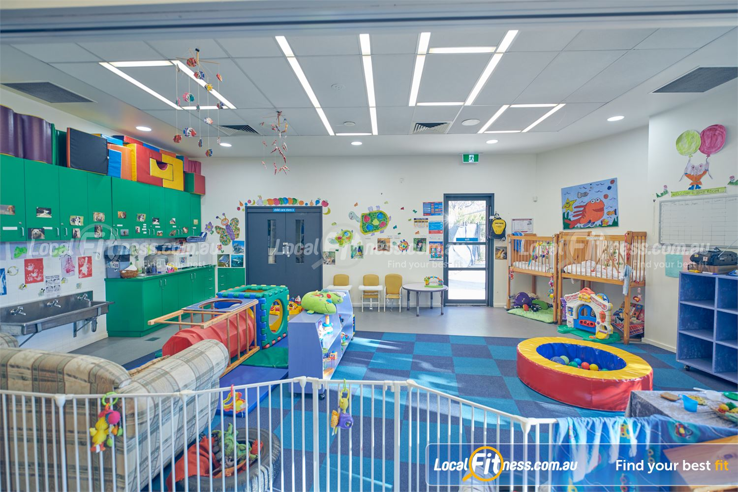 Maribyrnong Aquatic Centre Maribyrnong Maribyrnong Childcare will simply give you some kid-free time while you train.