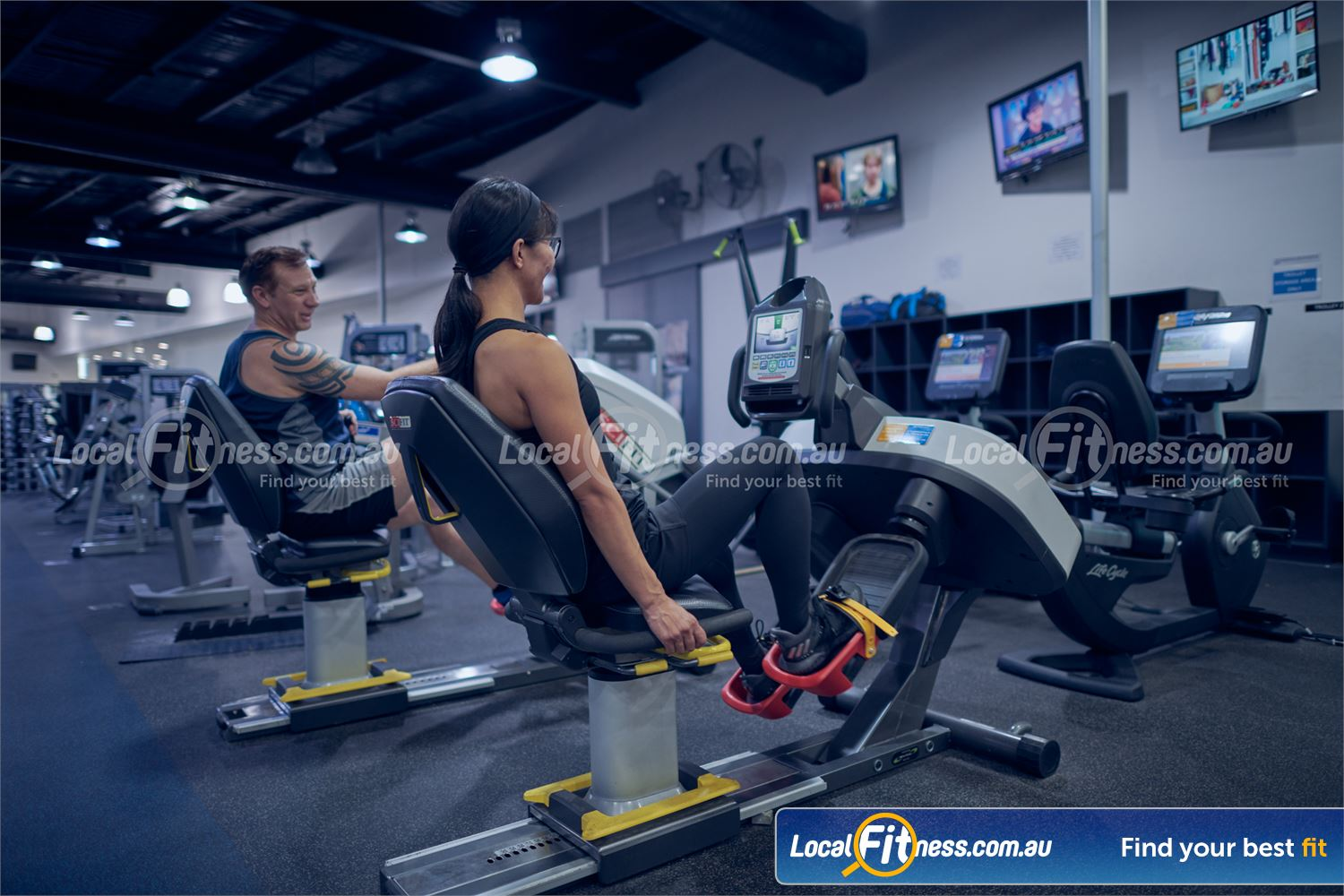 Maribyrnong Aquatic Centre Maribyrnong Our Maribyrnong gym includes state of the art cardio machines.