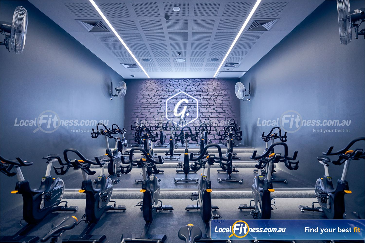 Goodlife Health Clubs Ringwood Goodlife Ringwood will include a dedicated cycle studio.