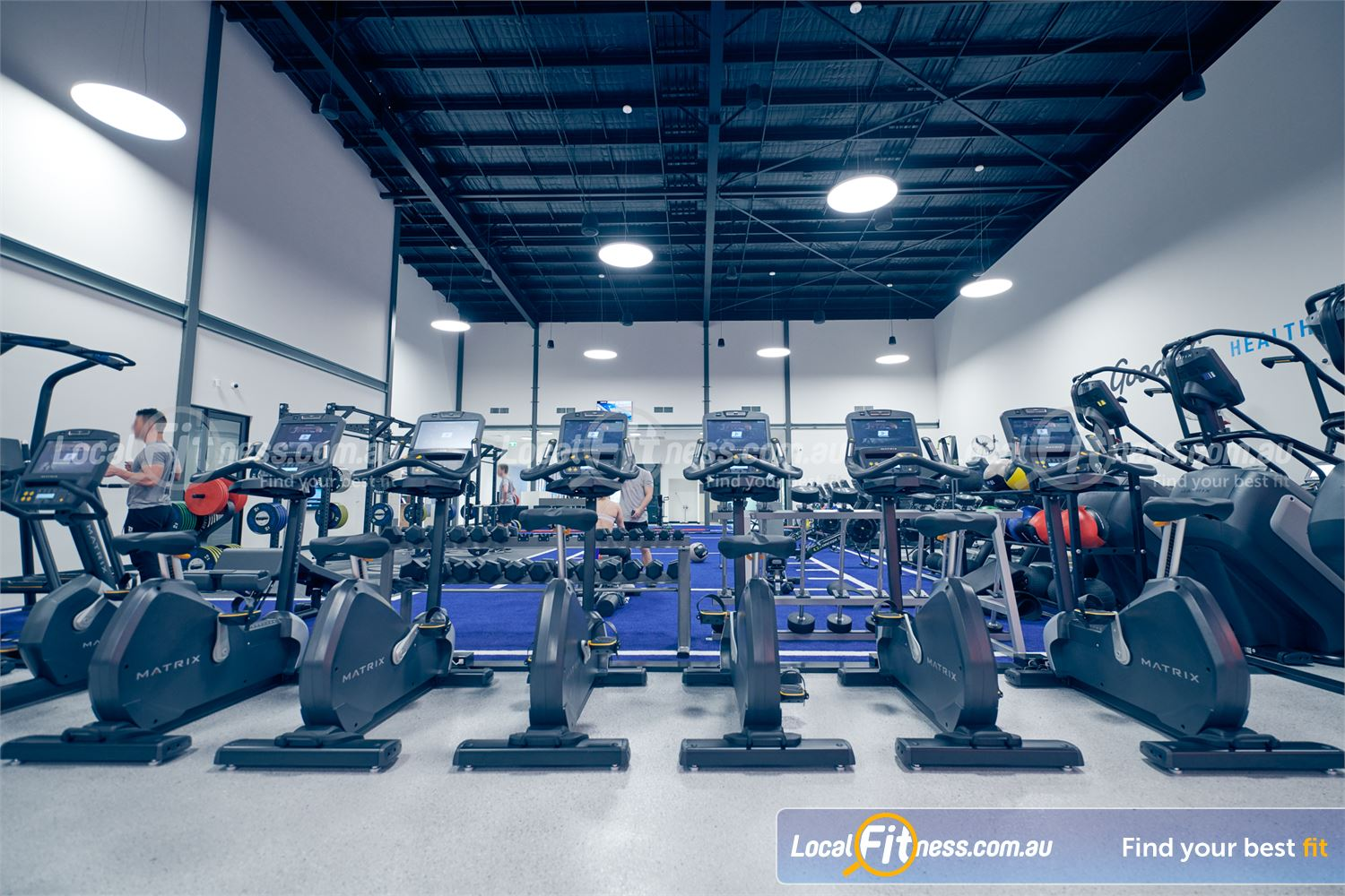 Goodlife Health Clubs Near Heathmont Our Ringwood gym will include state of the art cardio.