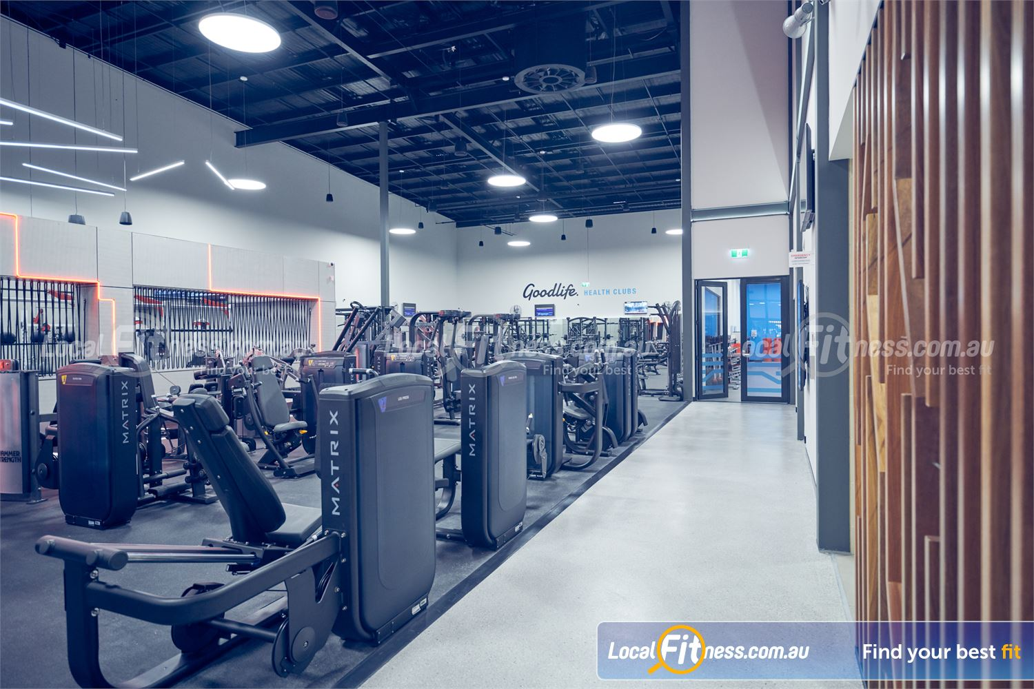 Goodlife Health Clubs Near Croydon South Enjoy state of the art equipment coming to Goodlife Ringwood gym.