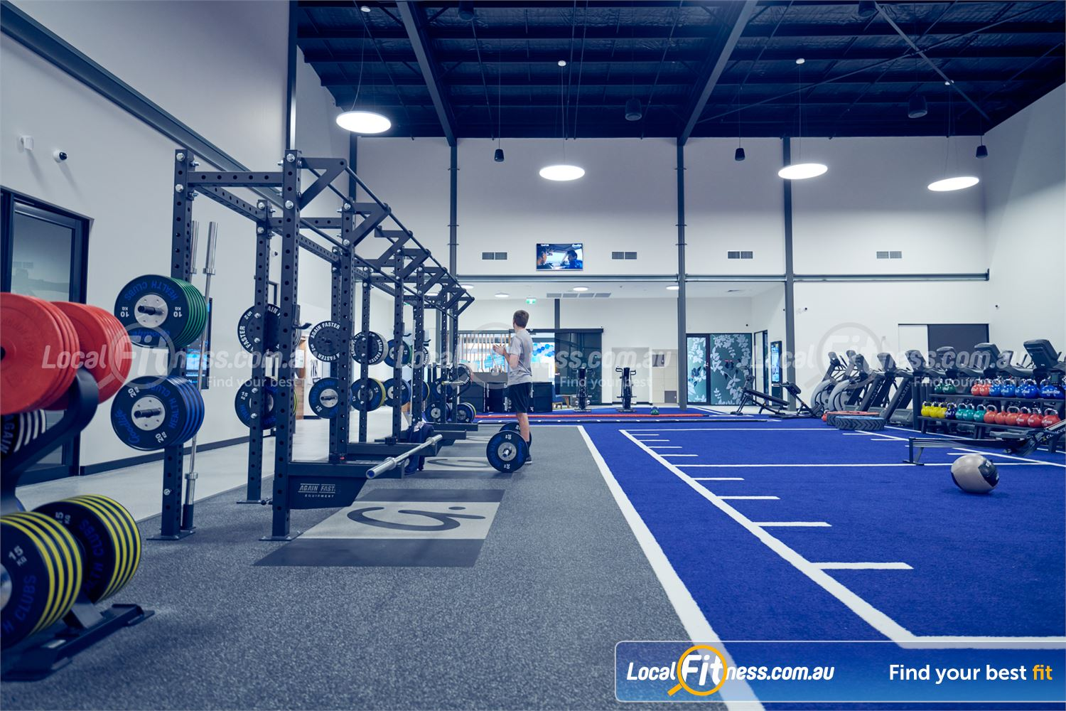 Goodlife Health Clubs Near Ringwood East Goodlife Ringwood will include a functional training and HIIT gym area.