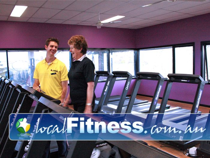 Genesis Fitness Clubs Doncaster Friendly staff assure all our members enjoy their workouts.