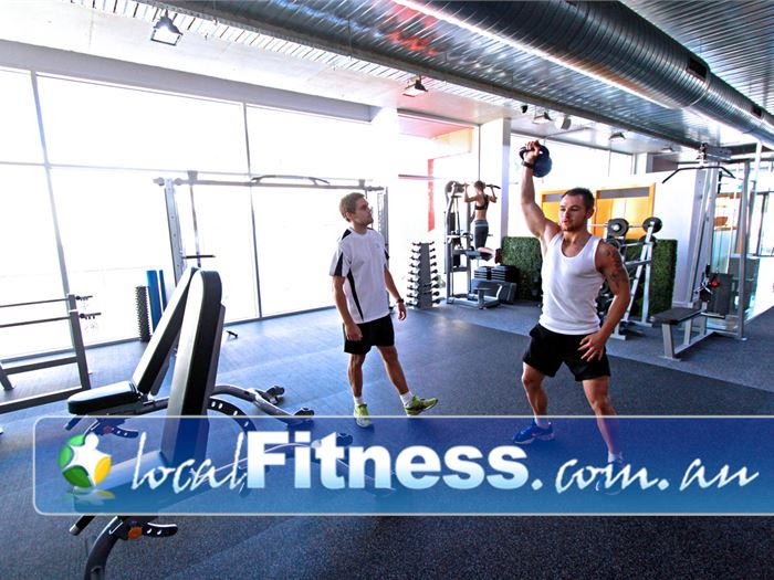 Go Fitness Gym Cheltenham  | Parkdale gym instructors can incorporate kettlebells into your