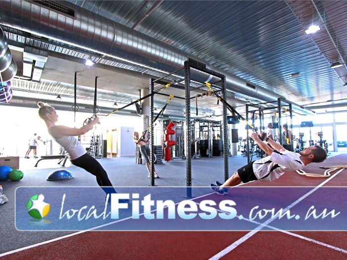 Go Fitness Gym Moorabbin  | Our functional training rig includes TRX training.