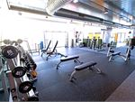 The Parkdale gym provides a comprehensive free-weights area.