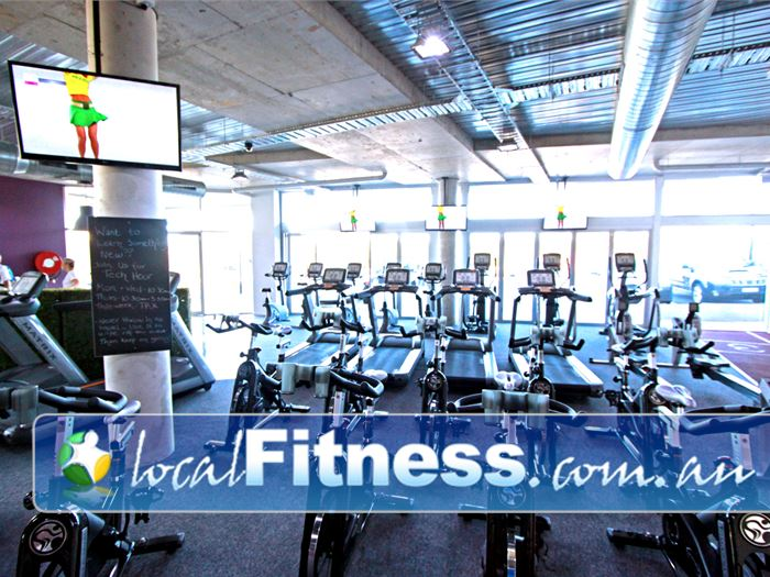 Go Fitness Edithvale Gym Fitness The cardio zone includes