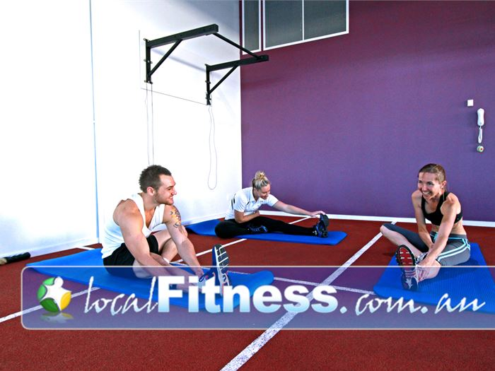 Go Fitness Waterways Gym Fitness Grab a mat and have a stretch.