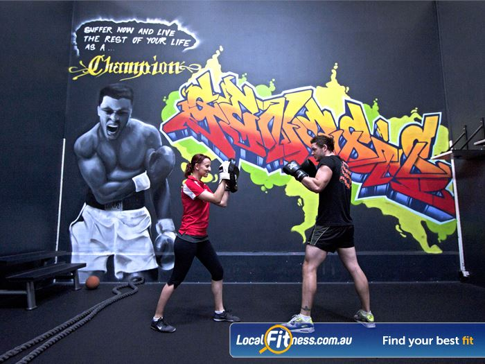 Genesis Fitness Clubs Gym Springvale  | Try our range of boxing classes.