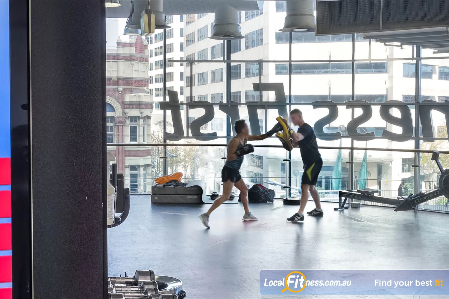 Fitness First Platinum Market St. Sydney Our Sydney gym is light filled with commanding views of Darling Harbour.