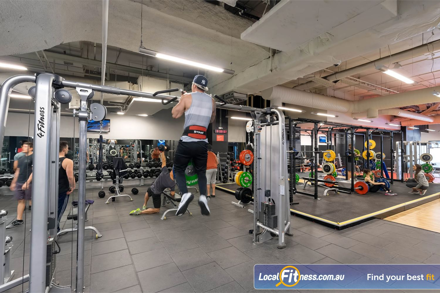 Fitness First Platinum Market St. Near Strawberry Hills Our Sydney gym includes state of the art pin-loading equipment from Life Fitness.