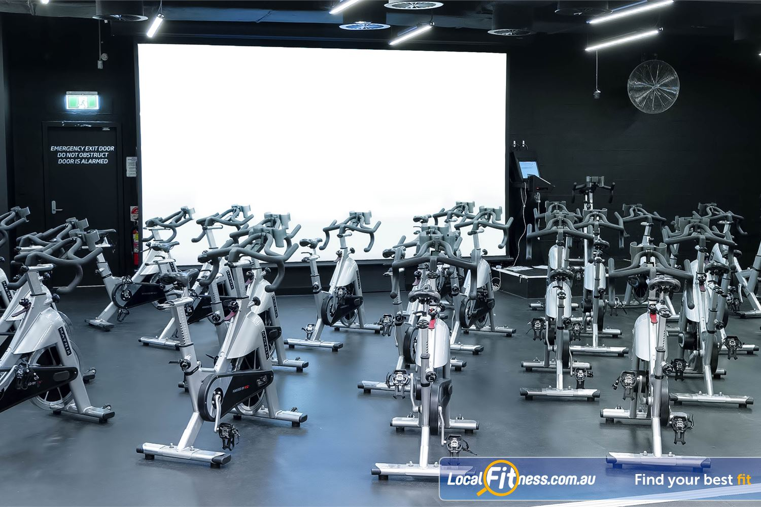 Fitness First Platinum Market St. Sydney The dedicated Sydney spin cycle studio.