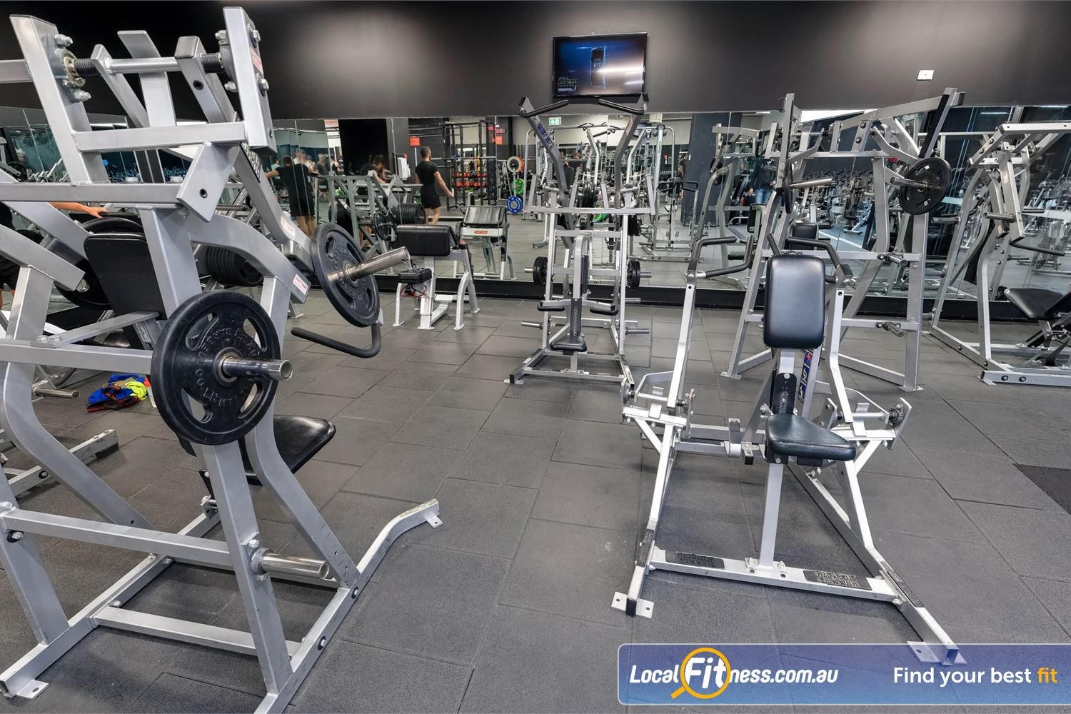 Fitness First Platinum Market St. Sydney Our Sydney gym includes heavy duty plate loading machines from Hammer Strength.
