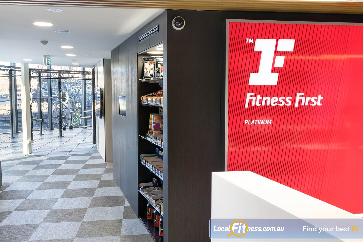Fitness First Platinum Market St. Sydney Beautiful Harbour side views from Fitness First Platinum Market St Sydney.