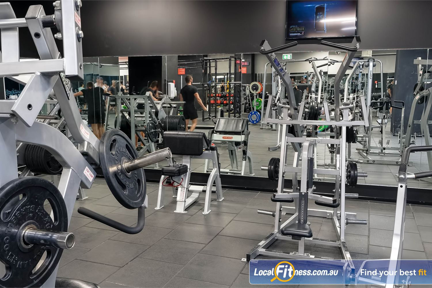 Fitness First Platinum Market St. Near World Square Our Sydney gym provides a full range of dumbbells, benches, barbells and more.