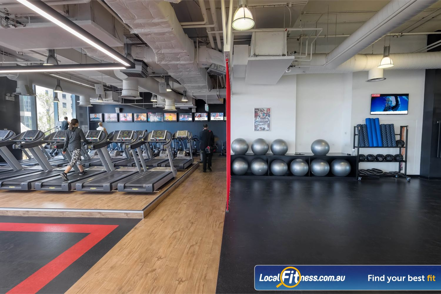 Fitness First Platinum Market St. Near Alexandria Mc Our Sydney gym caters for cardio, strength and freestyle training.