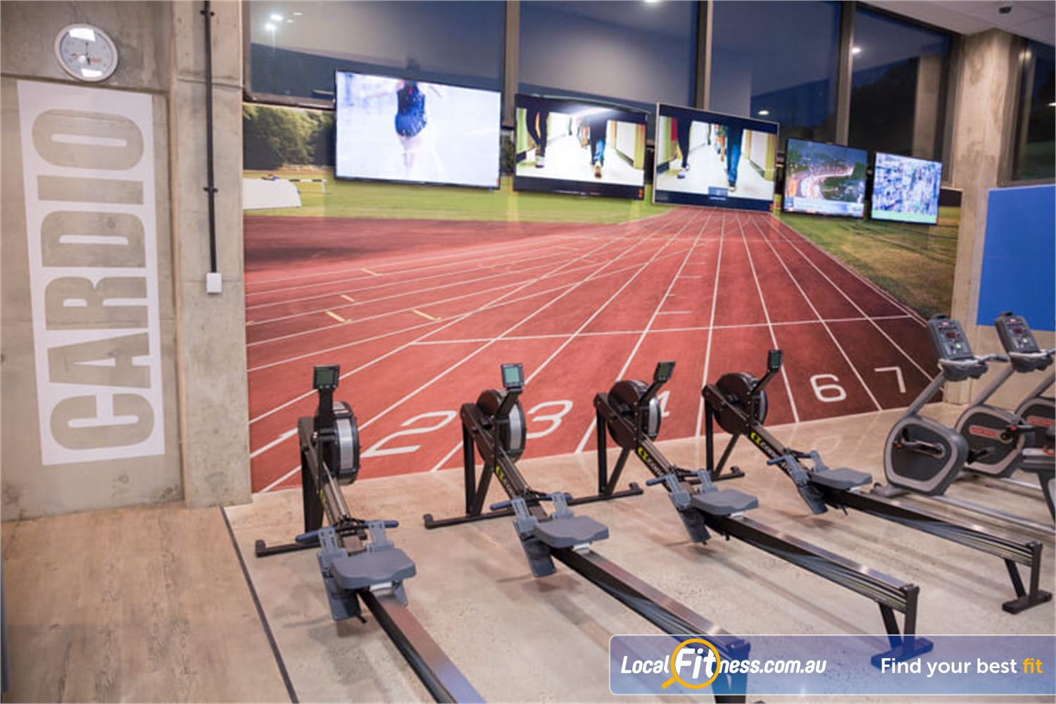 Fit n Fast Near Prairiewood Get into a HIIT cardio workout in our cardio area.