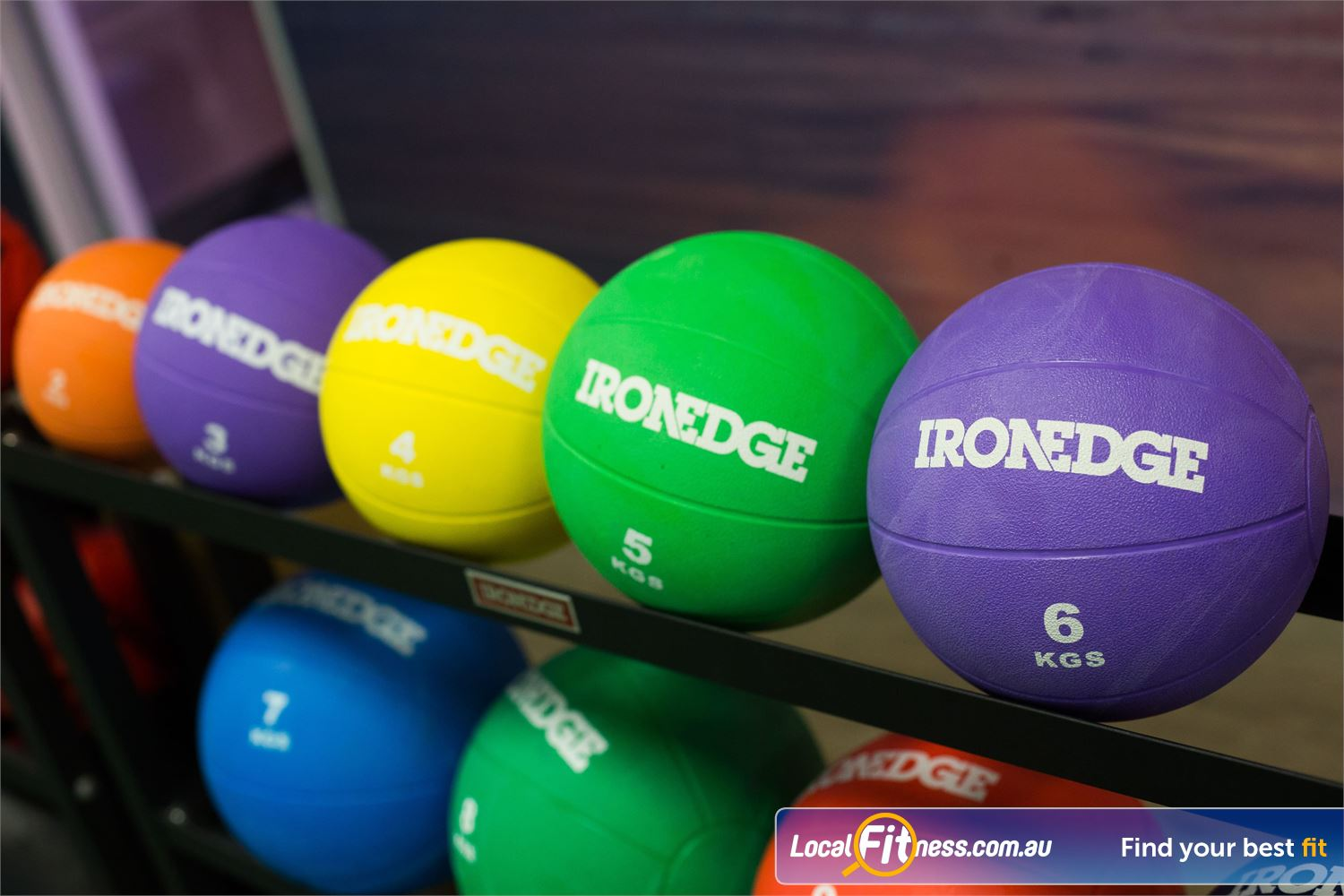 Fit n Fast Wetherill Park Functional training with medicine balls and more.