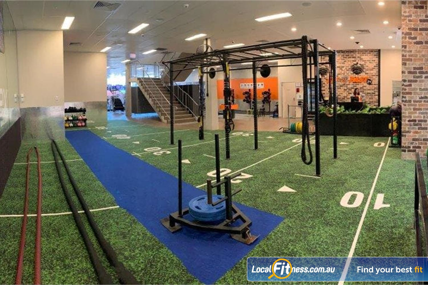 Fit n Fast Near Bossley Park Indoor sled track, battle ropes, strength matrix, TRX and more.