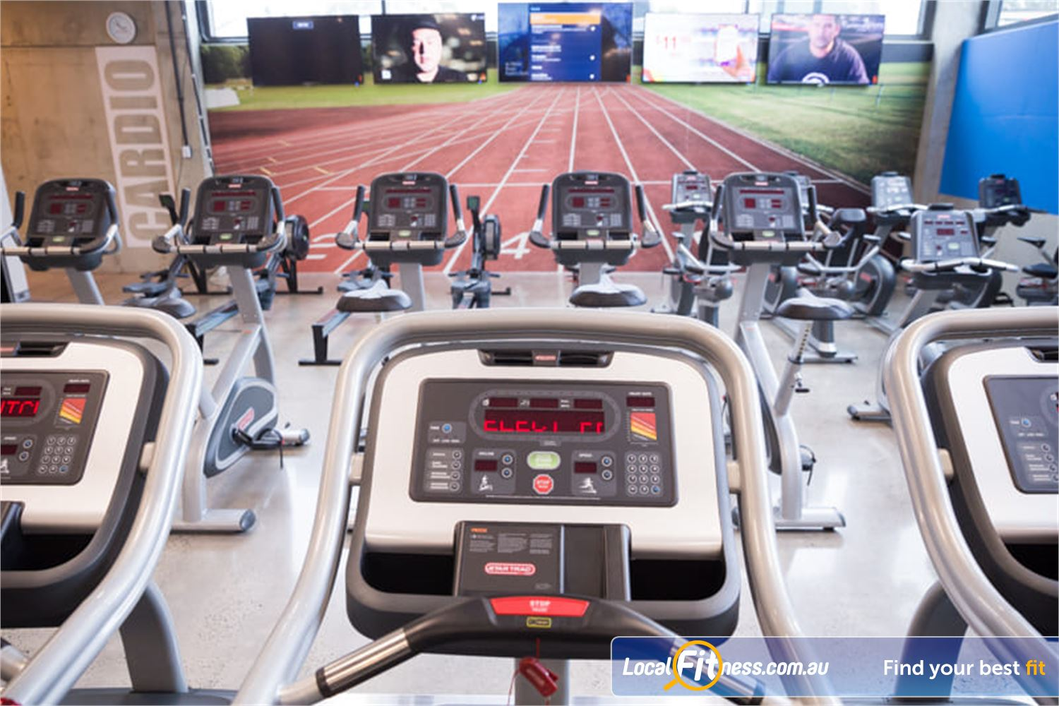 Fit n Fast Wetherill Park 24/7 Wetherill Park gym access to our cardio area.