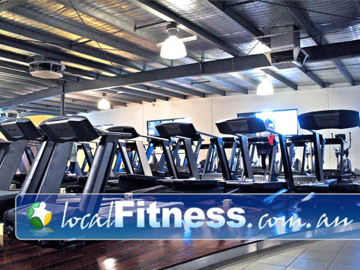 Genesis Fitness Clubs Gym Bayswater  | So many machines you'll never have to wait.