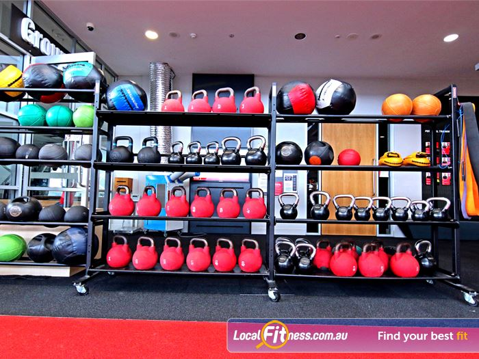 Fitness First Gym Mermaid Waters  | Innovative equipment perfect for freestyle and functional training.