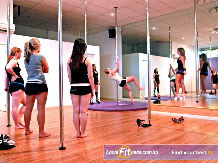 Pole Fanatics Gym North Melbourne  | Our Collingwood pole dancing studio can tailor for
