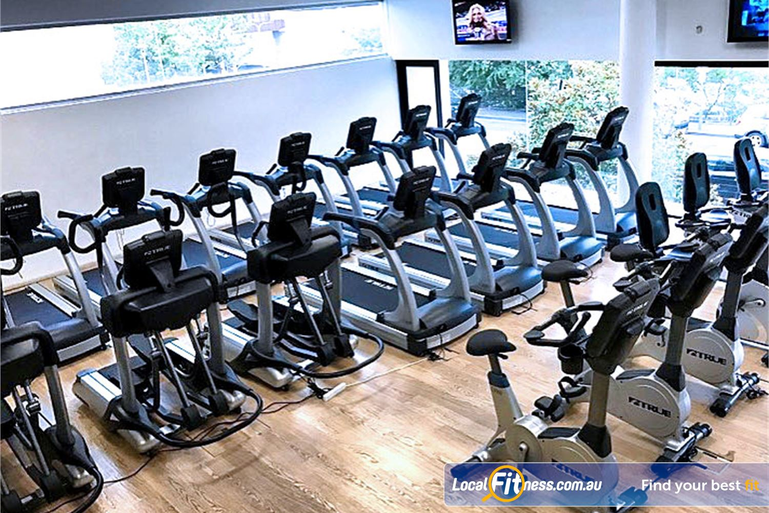 Cook and Phillip Park Aquatic and Fitness Centre Near Strawberry Hills State of the art cardio machines inc treadmills, cross trailers and more.
