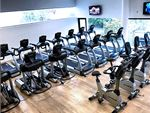 State of the art cardio machines inc treadmills,