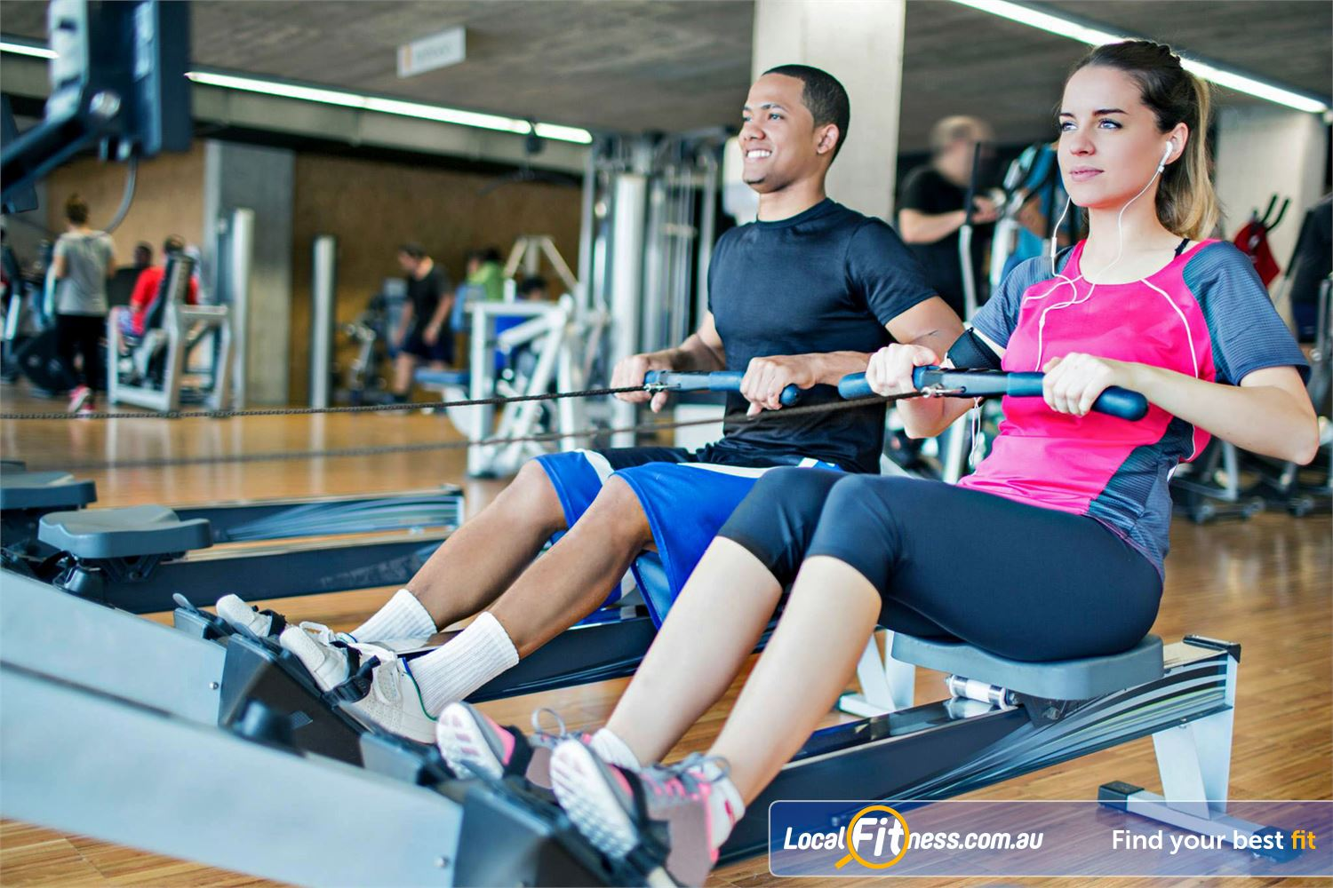 Cook and Phillip Park Aquatic and Fitness Centre Sydney Our spacious Sydney gym environment.