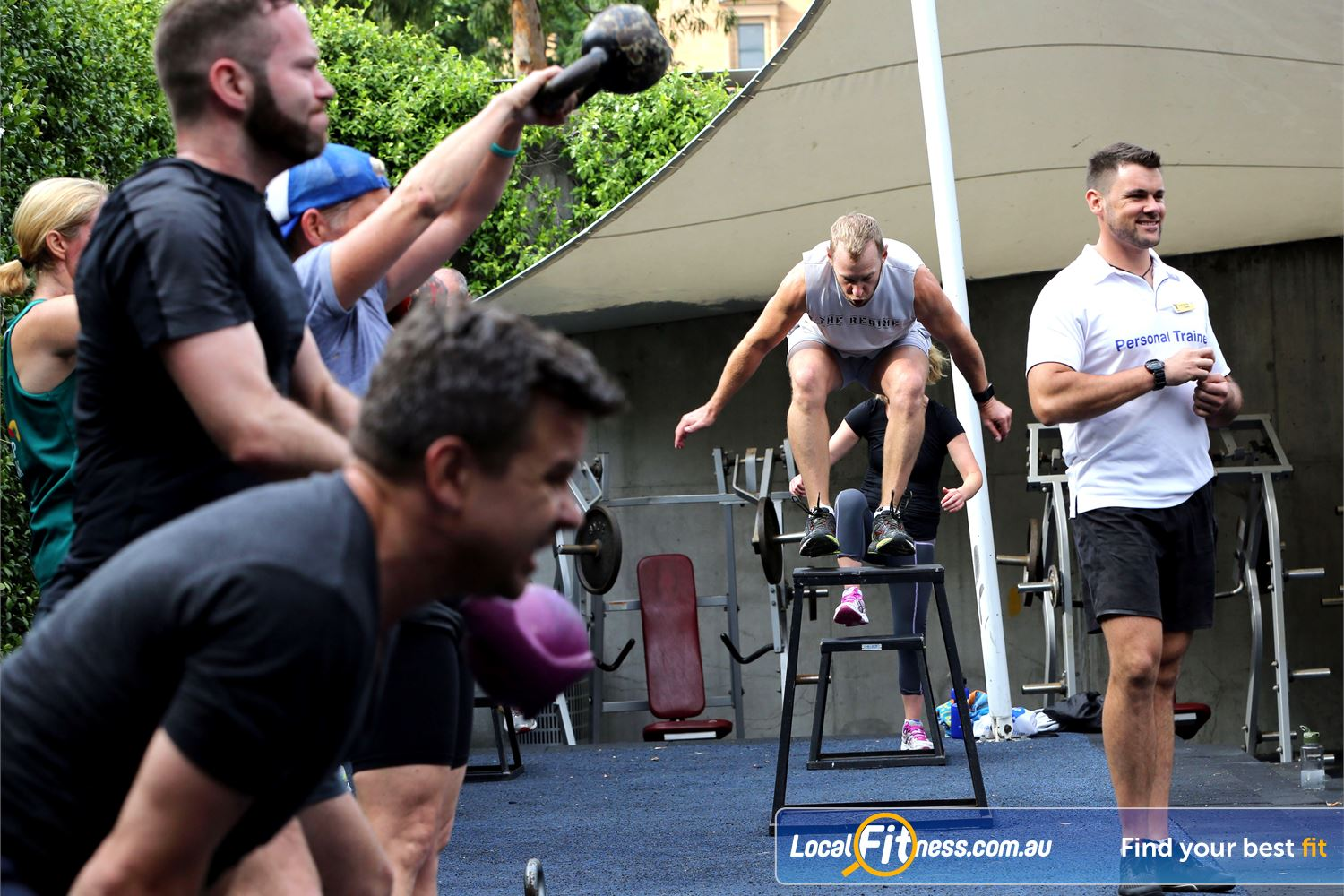 Cook and Phillip Park Aquatic and Fitness Centre Near World Square Small group personal training is a great way to burn calories and meet people.