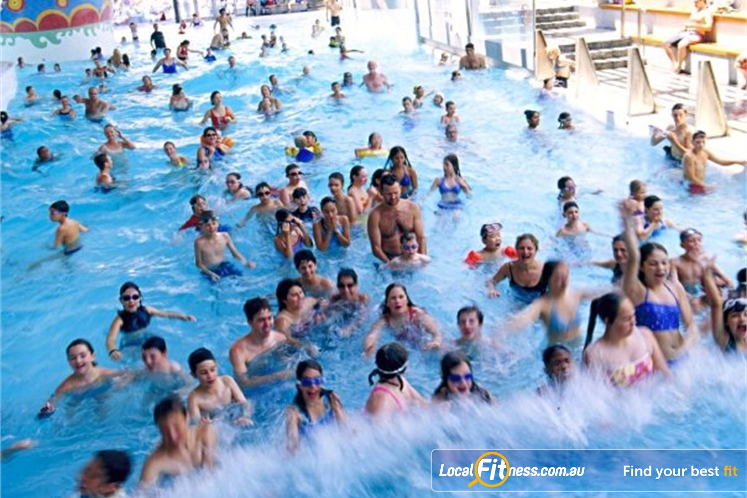 Cook and Phillip Park Aquatic and Fitness Centre Near Strawberry Hills Feel the wave at theCook + Phillip Park Aquatic and Fitness Centre.
