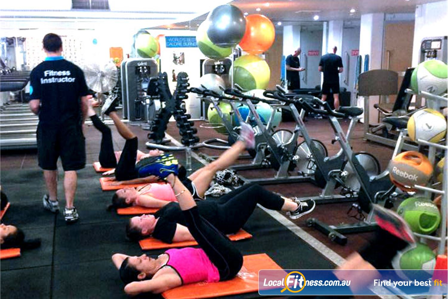 Cook and Phillip Park Aquatic and Fitness Centre Near World Square Work that core with our range of ab classes.