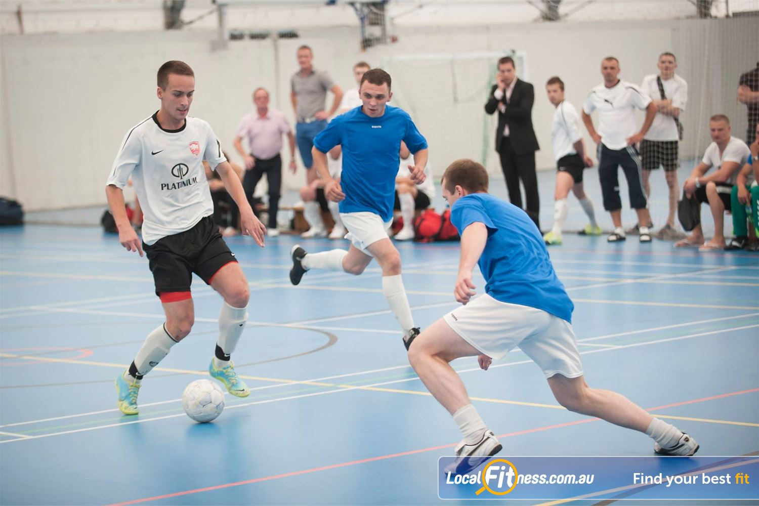 Cook and Phillip Park Aquatic and Fitness Centre Near Alexandria Mc Join a futsal, basketball or volleyball lunchtime or evening competition.
