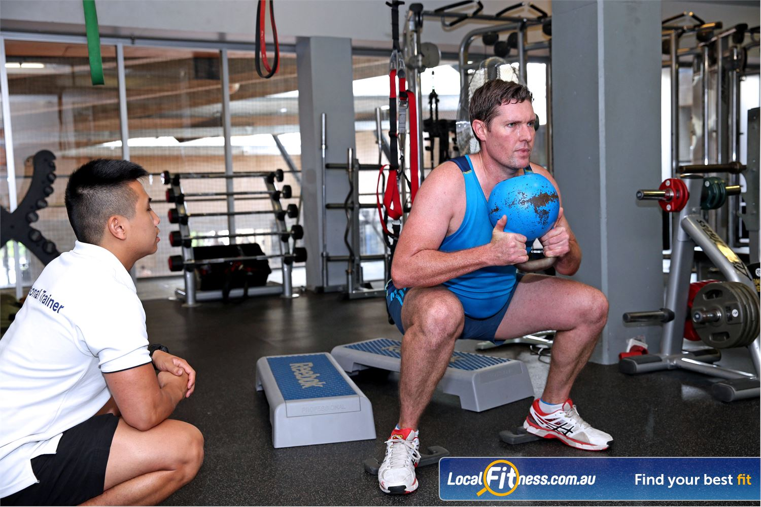 Cook and Phillip Park Aquatic and Fitness Centre Sydney Our Sydney gym team can monitor your goals with private personal training.