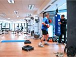 Fitline Personal Training Studio Collins St Melbourne Gym Fitness The spacious gym floor assures