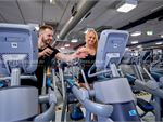 Fitness First Platinum Wanda Beach Kurnell Gym Fitness Rows of cardio machines on