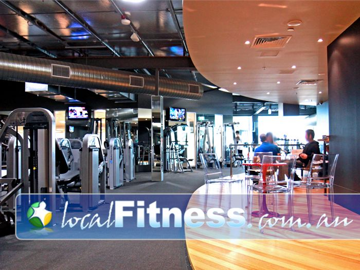 The Gym Glenelg A spacious and modern Glenelg 24/7 gym environment.<br />