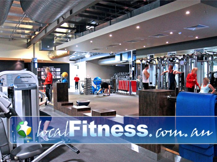Genesis Fitness Clubs Gym St Marys    The exclusive Glenelg personal training area.