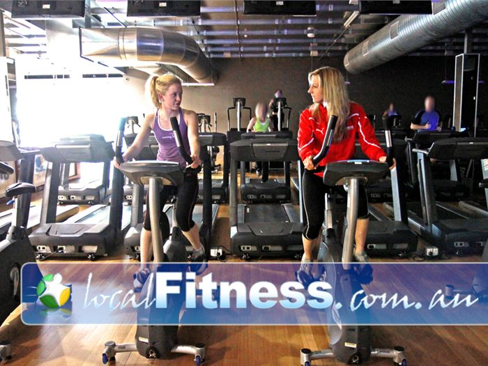 The Gym Glenelg Genesis Glenelg provides a friendly and fun cardio experience.